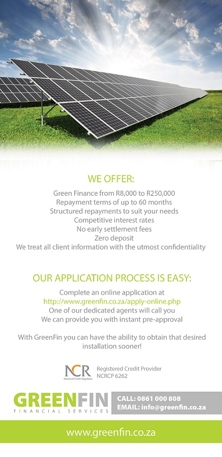 Solar Geyser Finance at 4 Seasons Solar